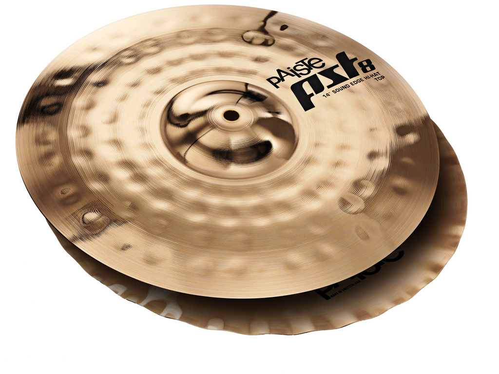 Hi-hat Cymbal Paiste CY0001803114, PST8 Serie, Reflector Sound Edge, 14""