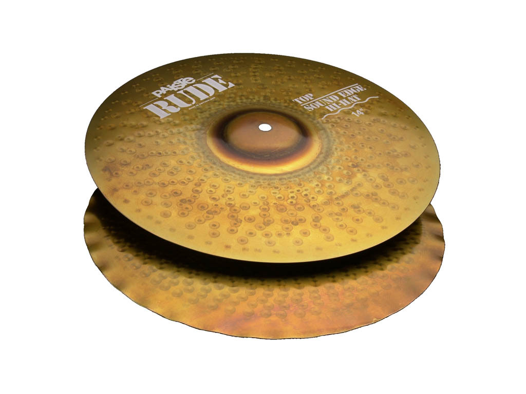 Hi-hat Cymbal Paiste CY0001123114, RUDE Serie, Sound Edge, 14""