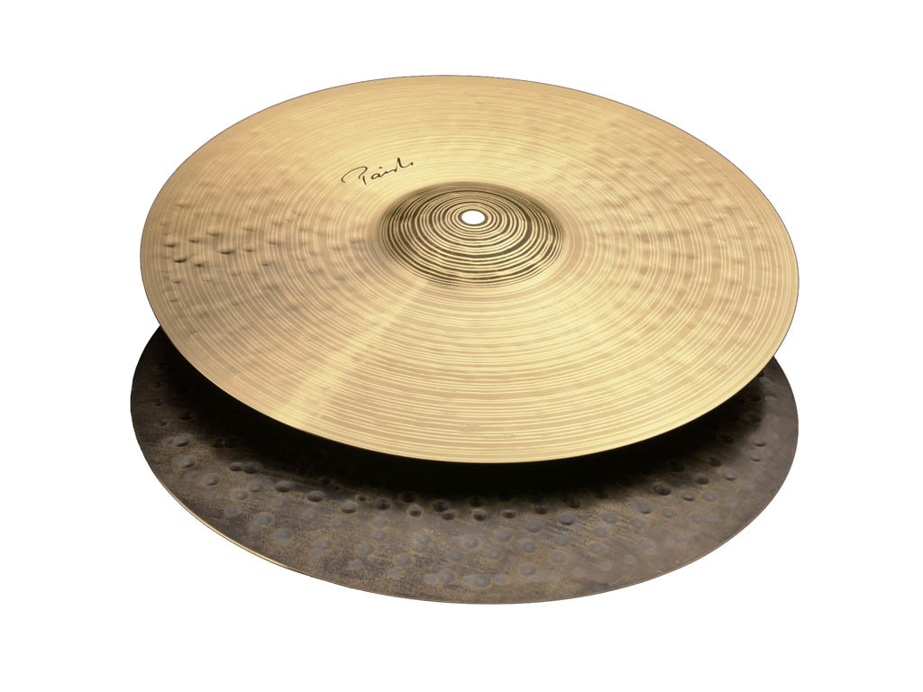 "Cymbal Hi-hat Paiste Traditional 14"" medium light hihat"