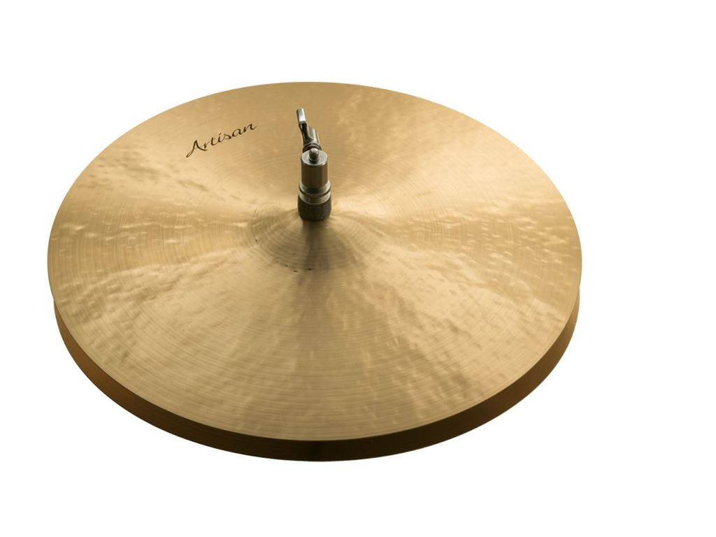 "Hi-hat Cymbal Sabian A1401, Artisan Serie, 14"" Light Hats"