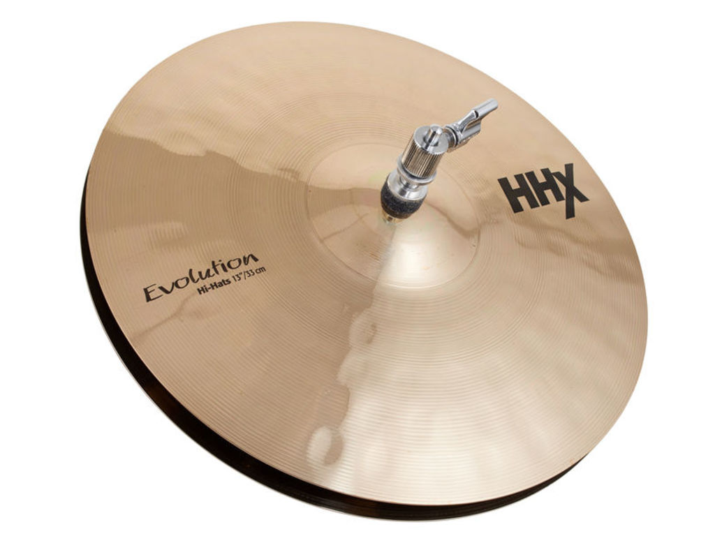 Hi-hat Cymbal Sabian 11302XEB, HHX Serie, Evolution, 13""