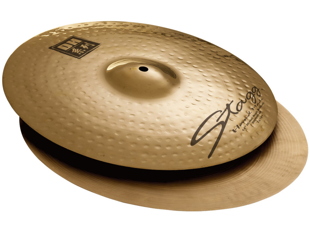 Hi-hat Cymbal Stagg DH-HR14B, DH Serie, Brilliant Rock, 14""