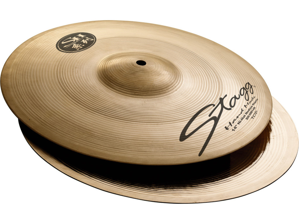 Hi-hat Cymbal Stagg SH-HM14R, SH Serie, Regular Medium, 14""