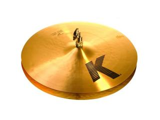 Hi-hat Cymbal Zildjian K0926, K Light, 16""