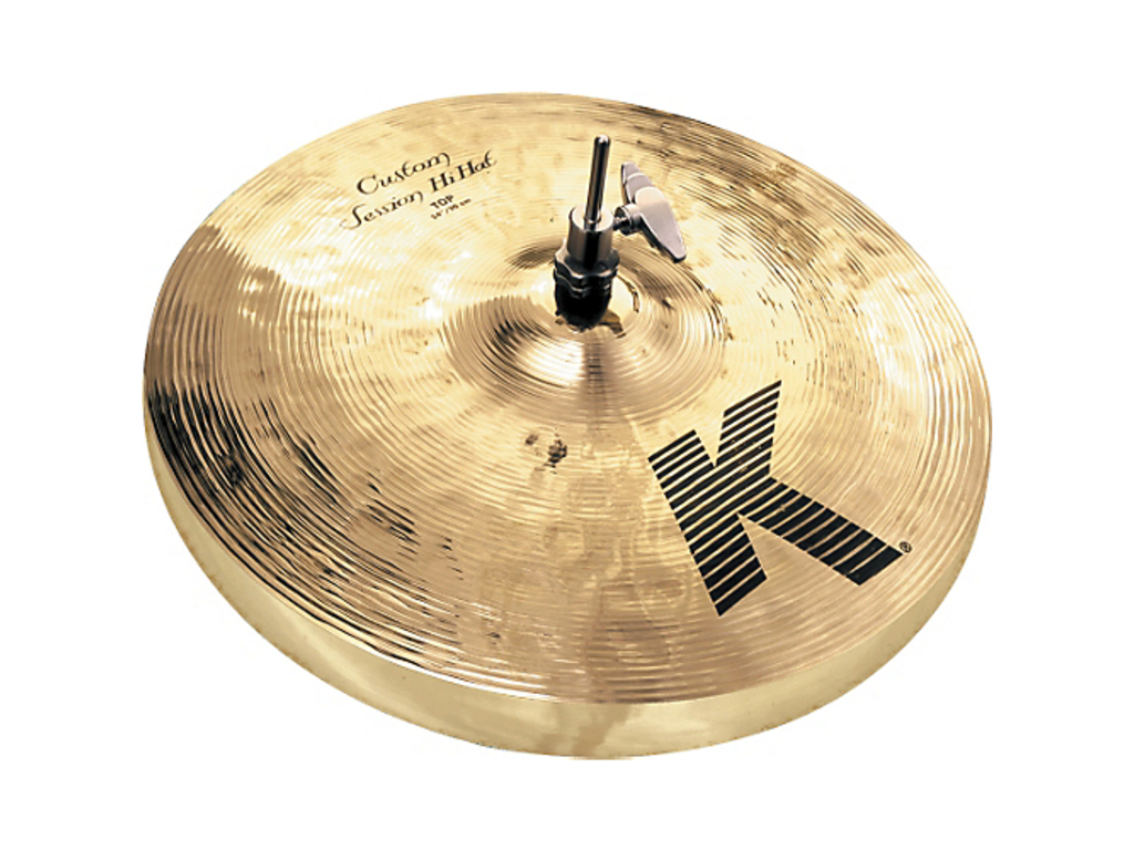 Hi-hat Cymbal Zildjian K0993, K Custom, Session Hi-hat, designed with Steve Gadd, 14""