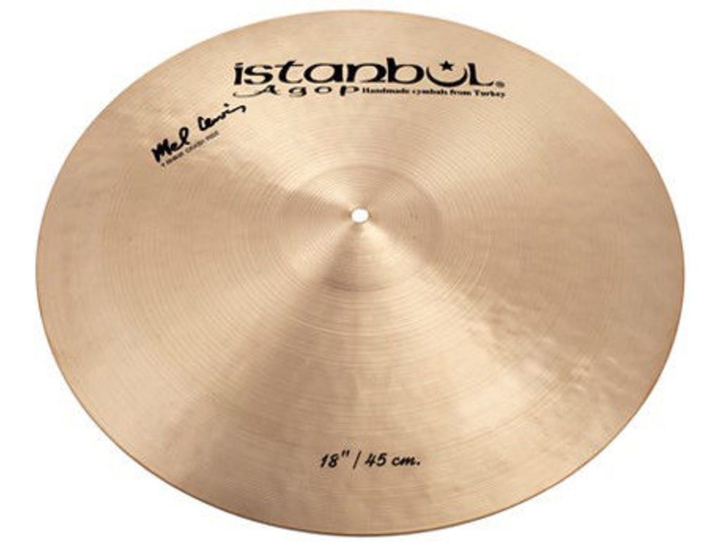 Crash Cymbal Istanbul Agop ML18, Crash/Ride, Mel Lewis, 18""