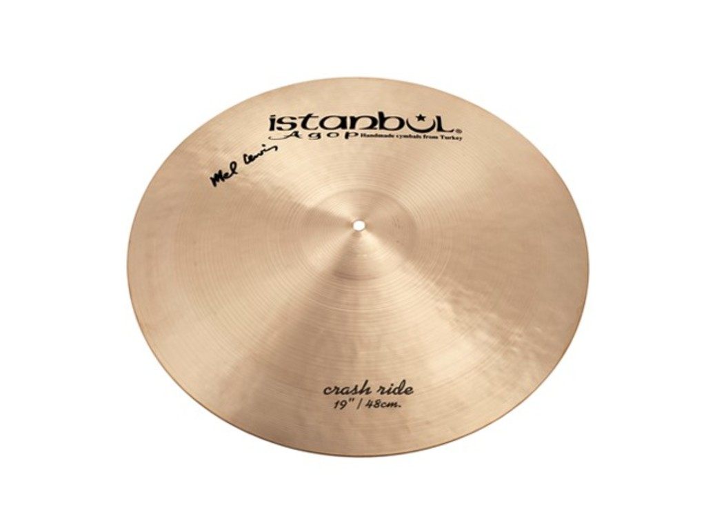 Crash Cymbal Istanbul Agop ML19, Crash/Ride, Mel Lewis, 19""