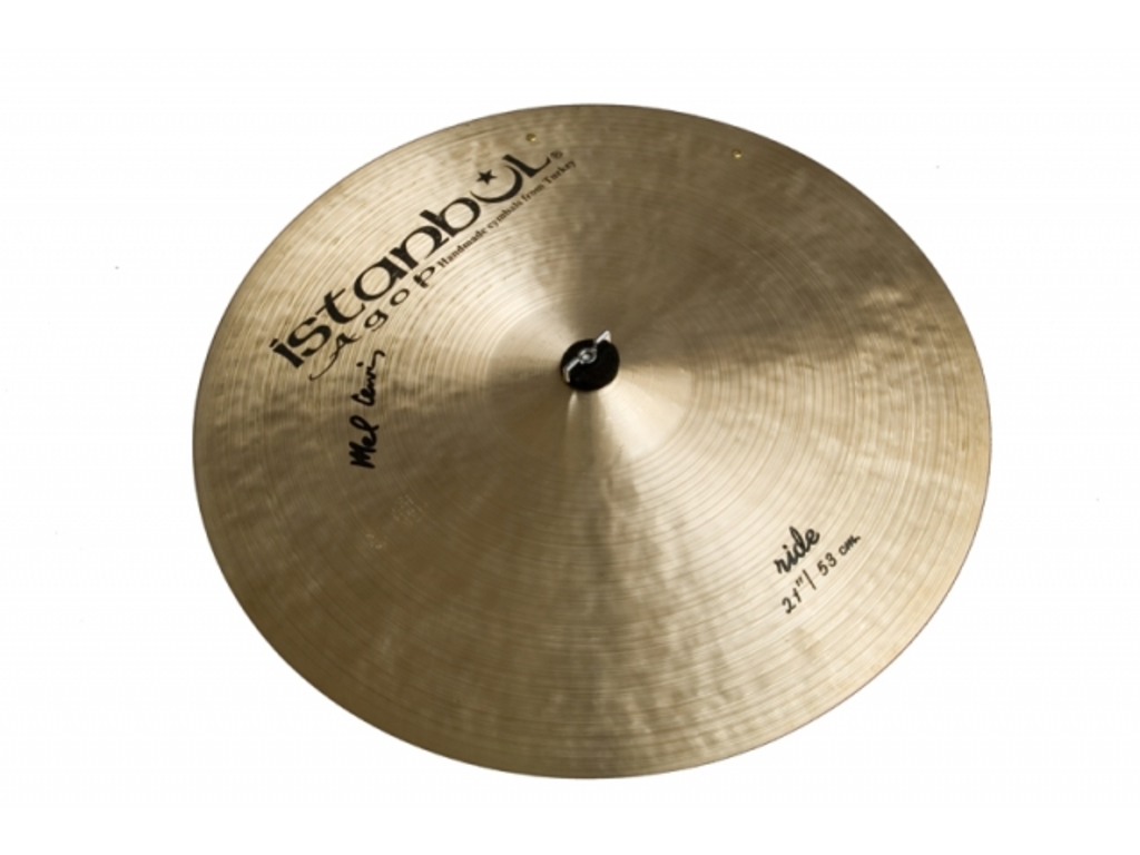 Ride Cymbal Istanbul Agop ML21, Mel Lewis Sizzle, 21""