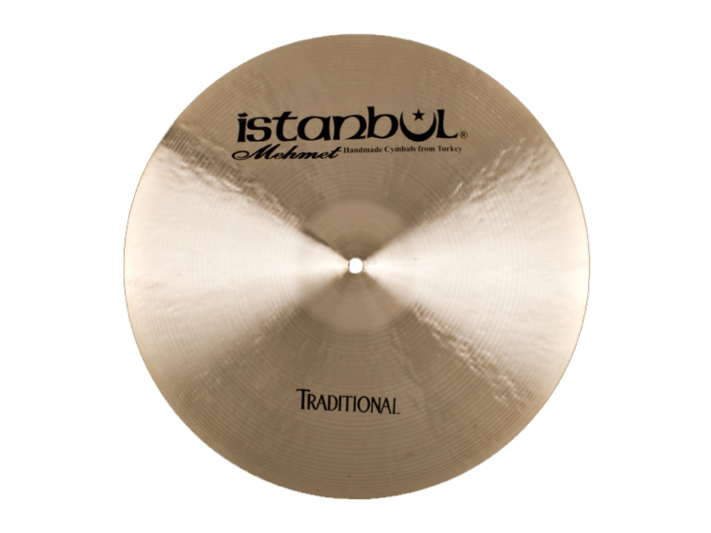 Crash Cymbal Istanbul Mehmet CPT19, Traditional Paper Thin, 19""