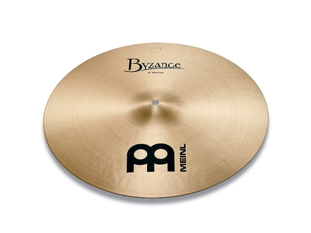 Crash Cymbal Meinl B14TC, Byzance Serie, Traditional, Thin, 14""