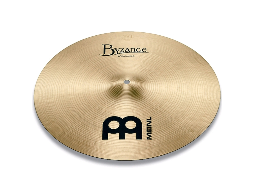 Crash Cymbal Meinl B16MC, Byzance Serie, Traditional, Medium, 16""