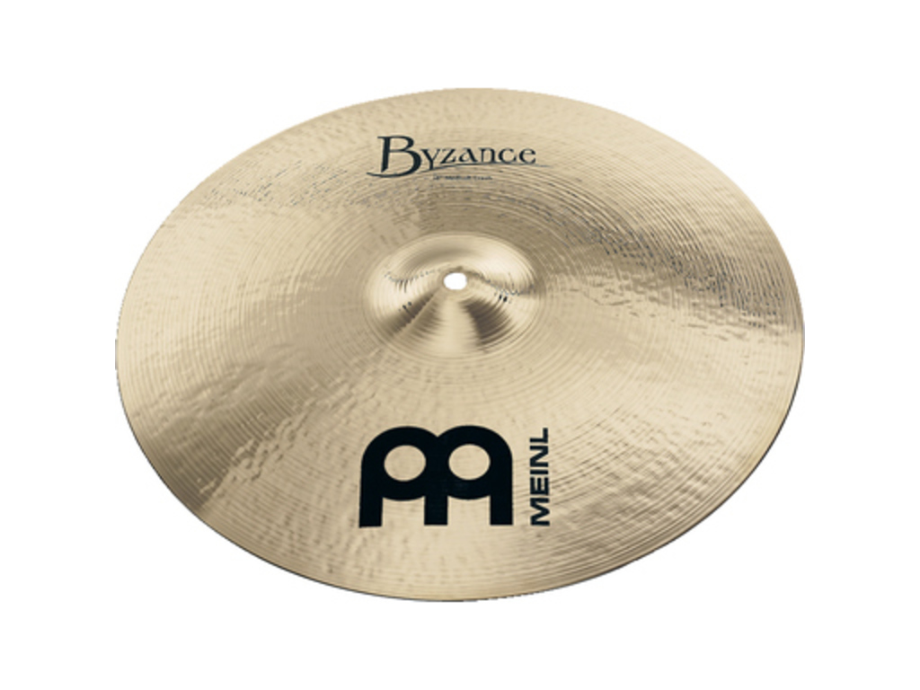 Crash Cymbal Meinl B16MTC-B, Byzance Serie, Brilliant, Medium Thin, 16""