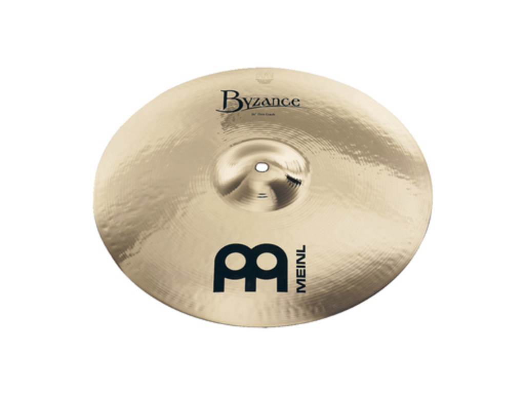 Crash Cymbal Meinl B17TC-B, Byzance Serie, Brilliant, Thin, 17""