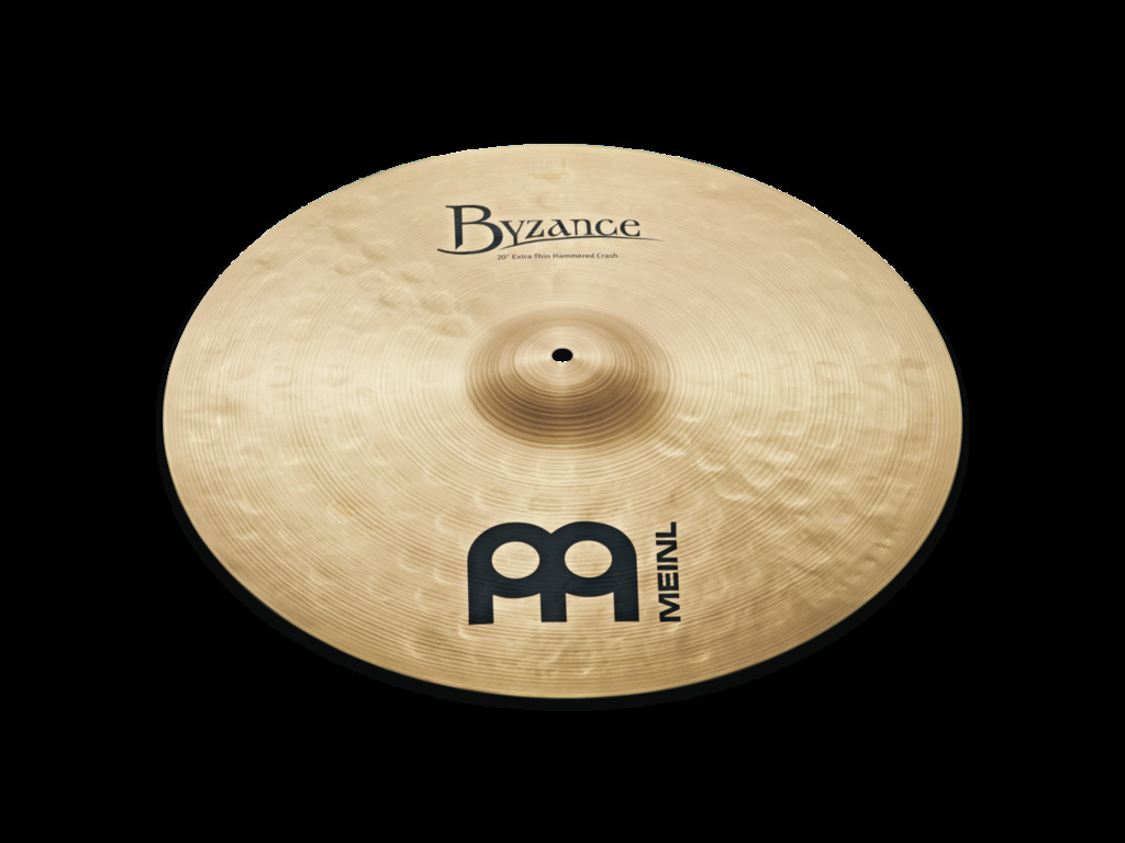 Crash Cymbal Meinl B18ETHC, Byzance Serie, Traditional, Extra Thin, Hammered, 18""