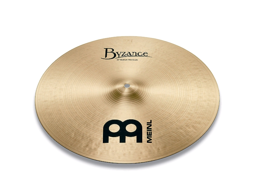 Crash Cymbal Meinl B18MTC, Byzance Serie, Traditional Medium Thin, 18""