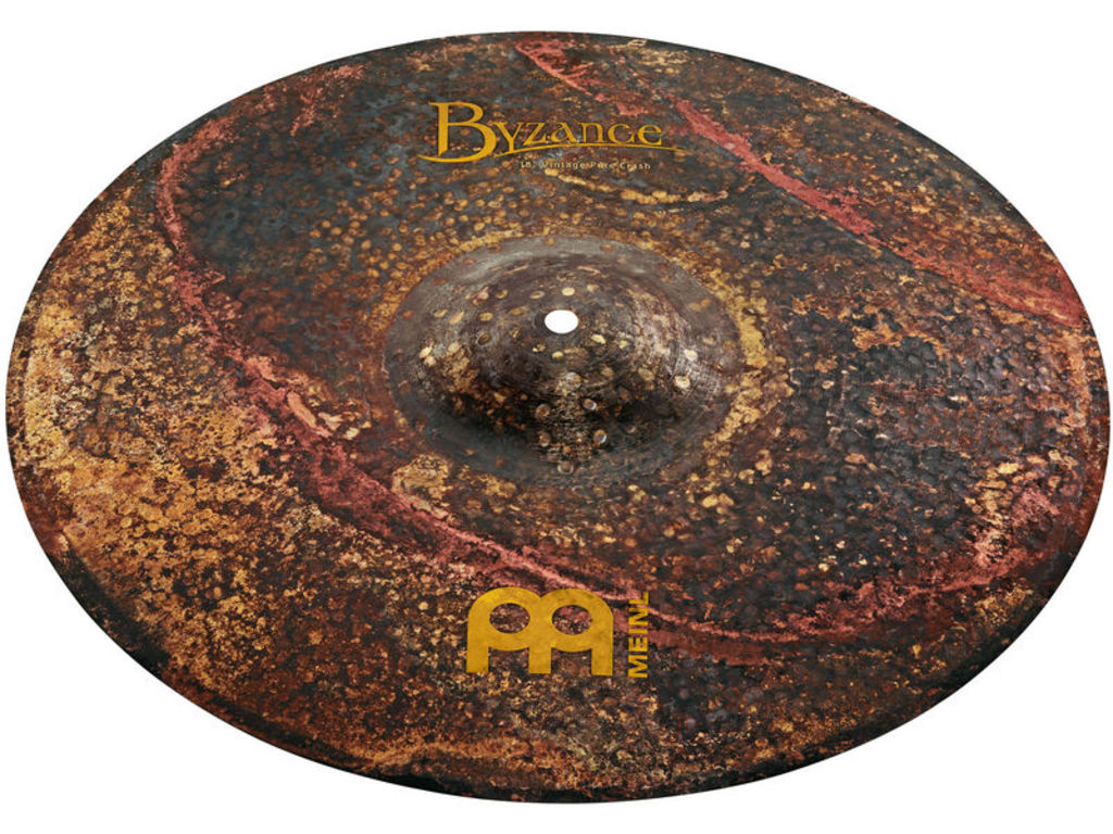 Crash Cymbal Meinl B18VPC, Byzance Serie, Vintage, Pure, 18""