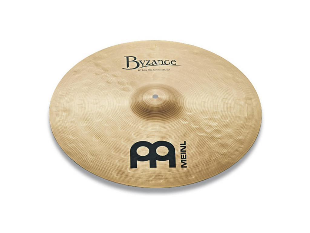 Crash Cymbal Meinl B20ETHC, Byzance Serie, Traditional, Extra Thin, Hammered, 20""