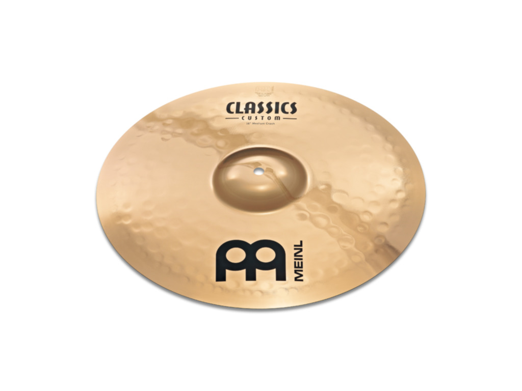 Crash Cymbal Meinl CC16MC-B, Classics Serie, Custom, Medium, 16""