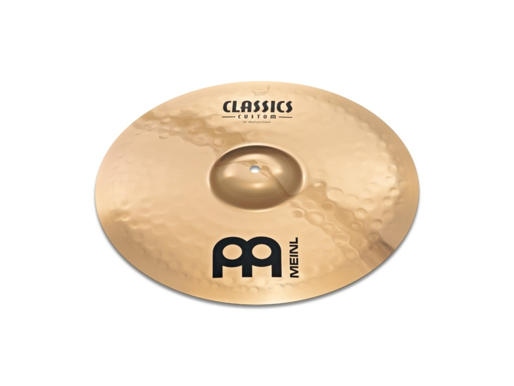 Crash Cymbal Meinl CC16PC-B, Classics Serie, Custom, Powerful, 16""