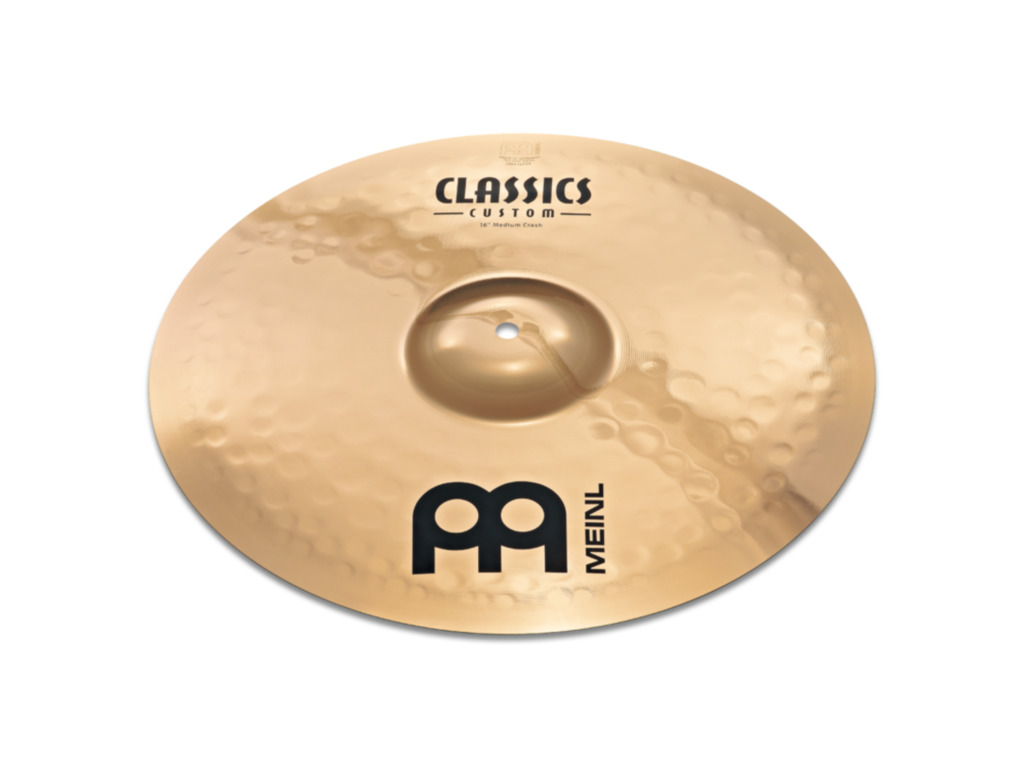 Crash Cymbal Meinl CC18MC-B, Classics Serie, Custom, Medium, 18""