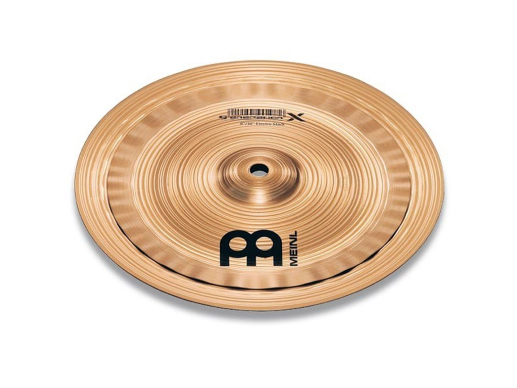 "Effect Cymbal Meinl GX-10/12ES, Generation X 10""/12"" Electro Stack"