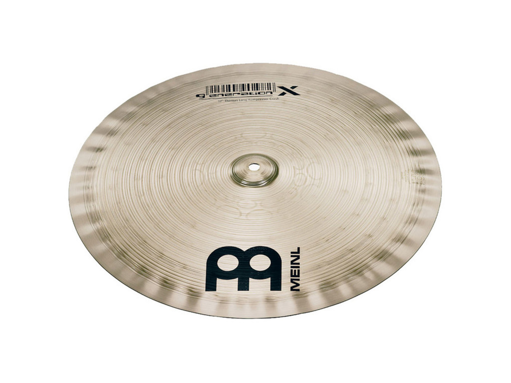 Effect Cymbal Meinl GX-16SYC, Generation X Serie, Synthetik, Signature Thomas Lang, 16""