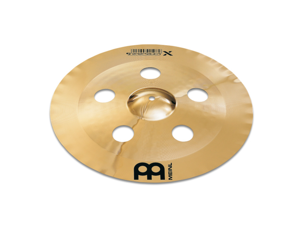 Effect Cymbal Meinl GX-17CHC-B, Generation X Serie, China/Crash, 17""