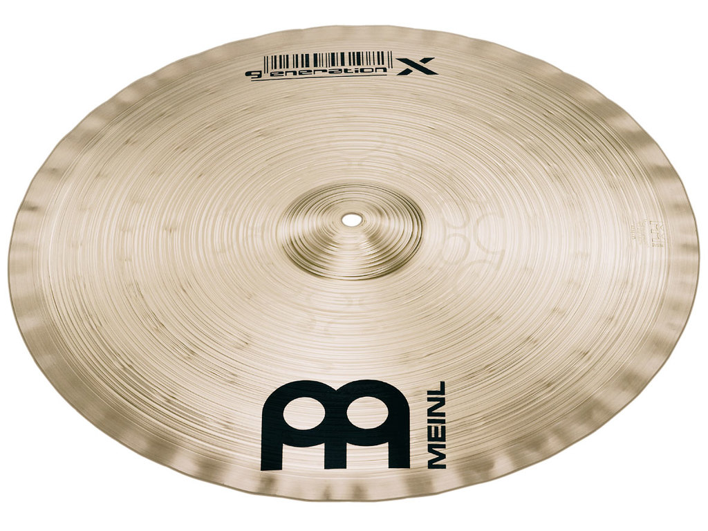 Effect Cymbal Meinl GX-17KC, Generation X Serie, Kompressor Crash, Signature Thomas Lang, 17""