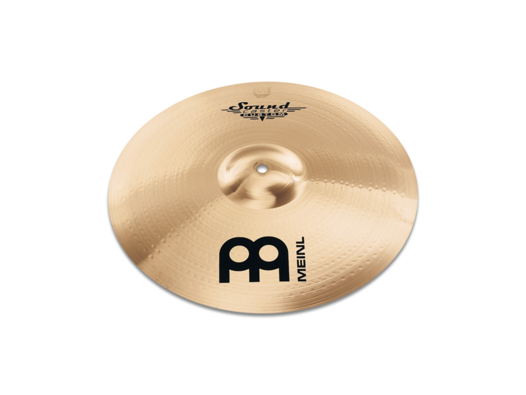Crash Cymbal Meinl SC15MC-B, Soundcaster Serie, Custom, Medium, 15""