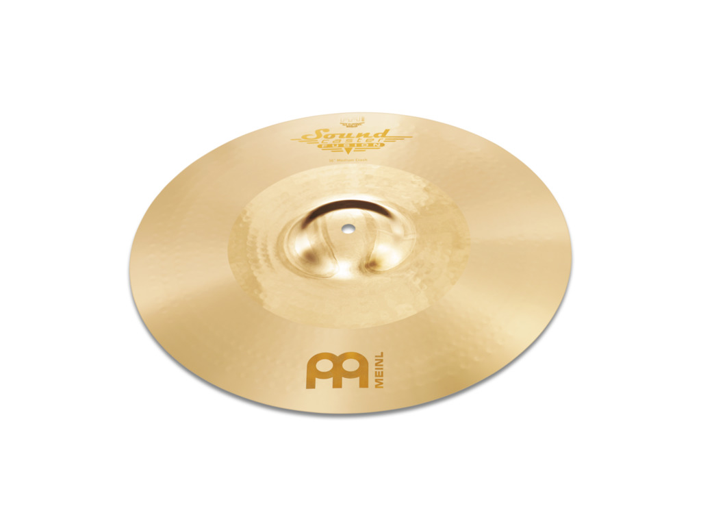 Crash Cymbal Meinl SC16PC-B, Soundcaster Serie, Custom, Powerful, 16""