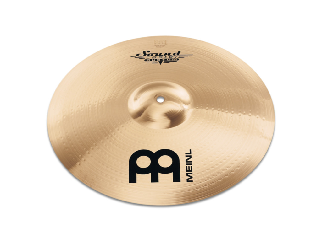 Crash Cymbal Meinl SC18PC-B, Soundcaster Serie, Custom, Powerful, 18""