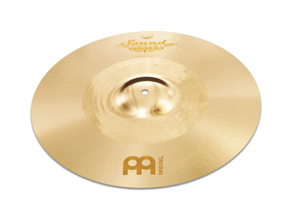 Crash Cymbal Meinl SF18PC, Soundcaster Serie, Fusion, Powerful, 18""