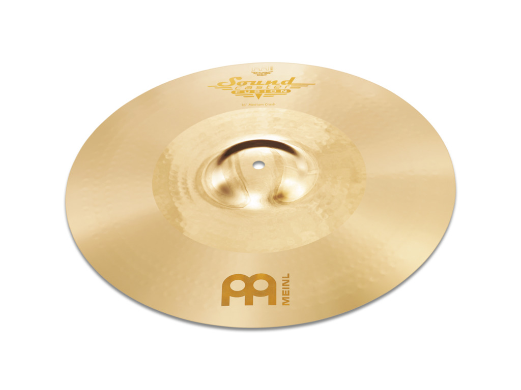 Crash Cymbal Meinl SF19PC, Soundcaster Serie, Fusion, Powerful, 19""