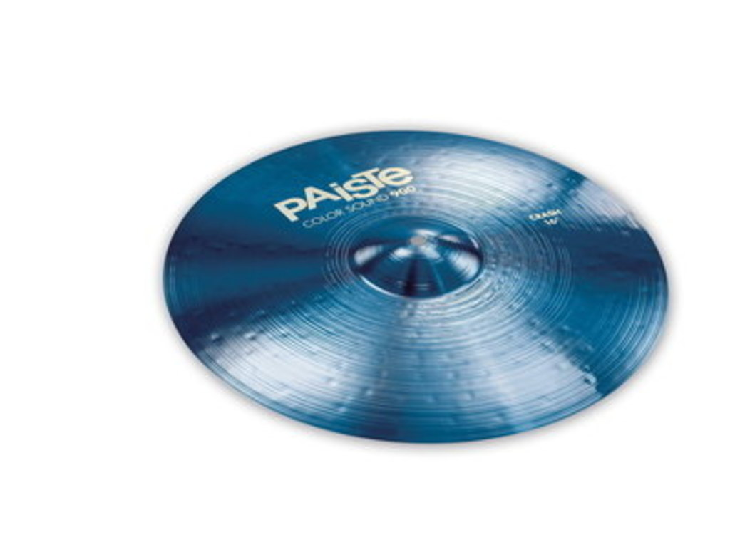 Crash Cymbal Paiste 900 serie, Color Sound Blue, 16""