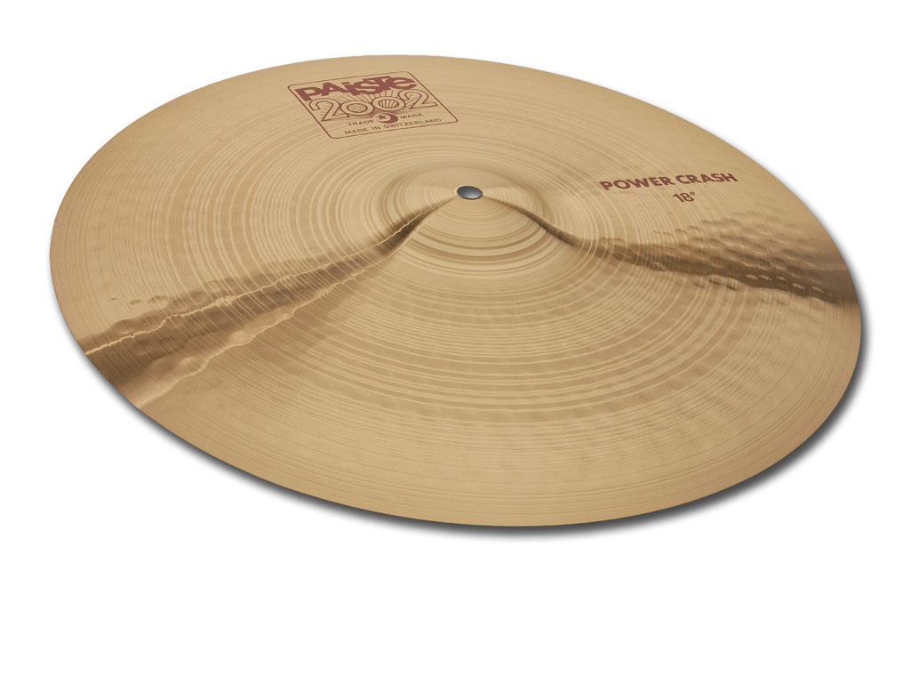 Crash Cymbal Paiste CY0001063018, 2002 Serie, Power, 18""