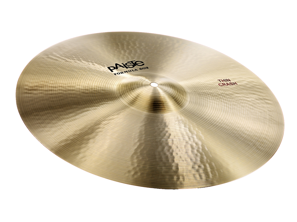 Crash Cymbal Paiste CY0001041216, Formula 602 Classic Sounds Serie, Thin, 16""