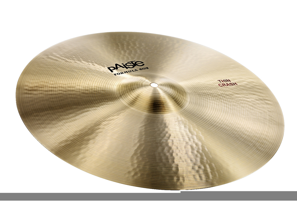 Crash Cymbal Paiste CY0001041218, Formula 602 Classic Sounds Serie, Thin, 18""
