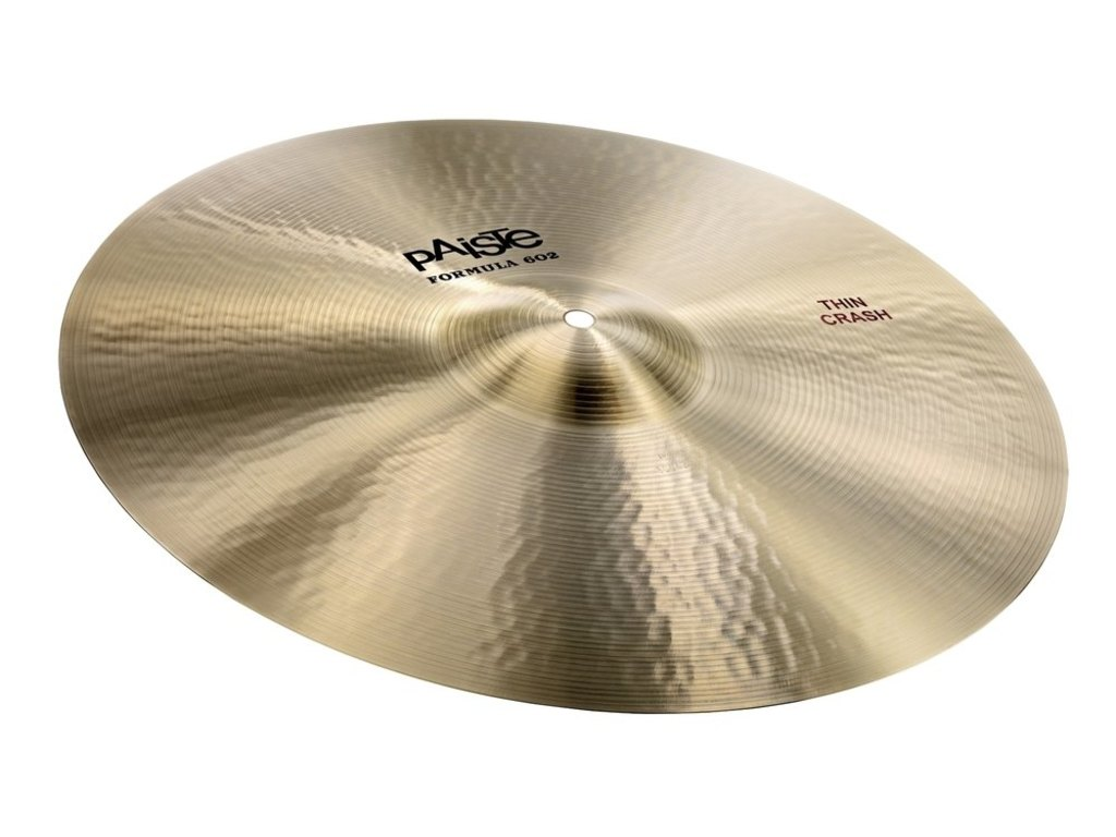 Crash Cymbal Paiste CY0001041220, Formula 602 Classic Sounds Serie, Thin, 20""
