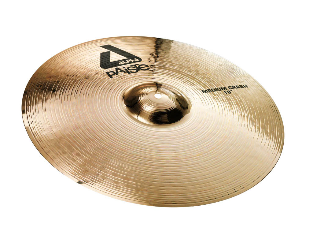 Crash Cymbal Paiste CY0000881416, Alpha Serie, Medium, 16""