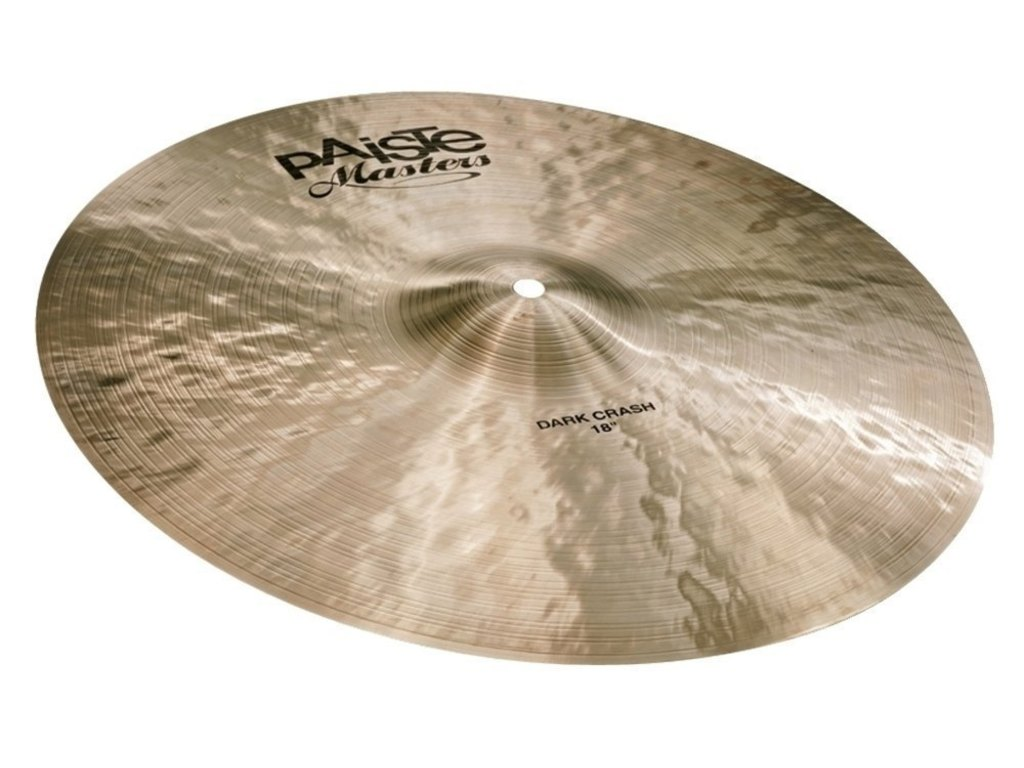 Crash Cymbal Paiste CY0005501418, Masters Serie, Dark, 18""