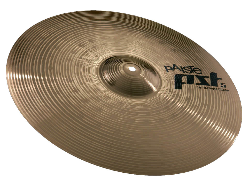 Crash Cymbal Paiste CY0000681418, PST5 Serie, Medium, 18""