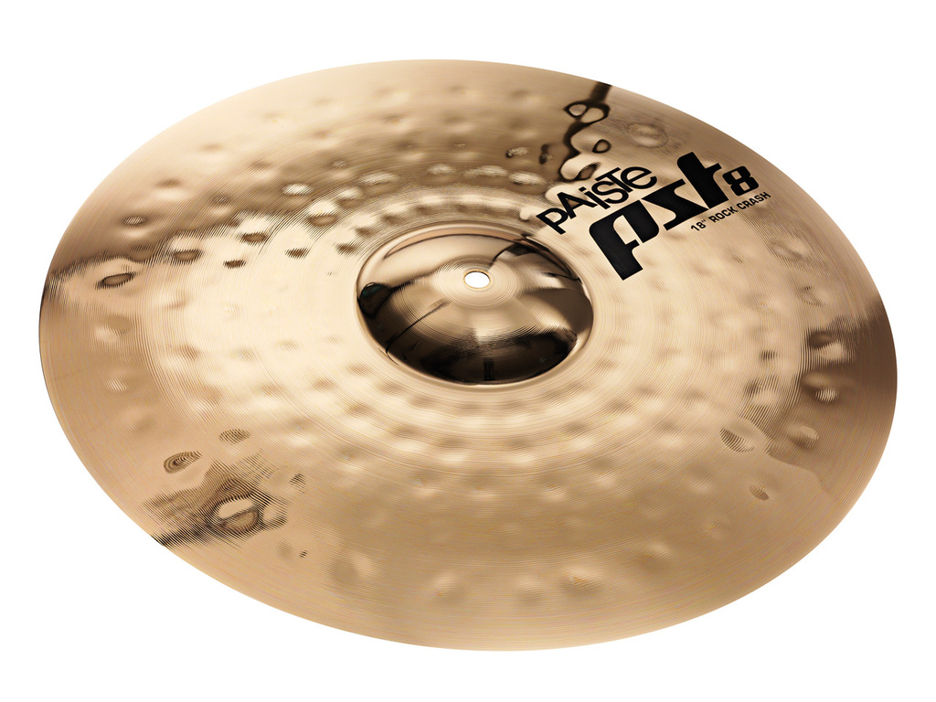 Crash Cymbal Paiste CY0001802818, PST8 Serie, Reflector Rock, 18""