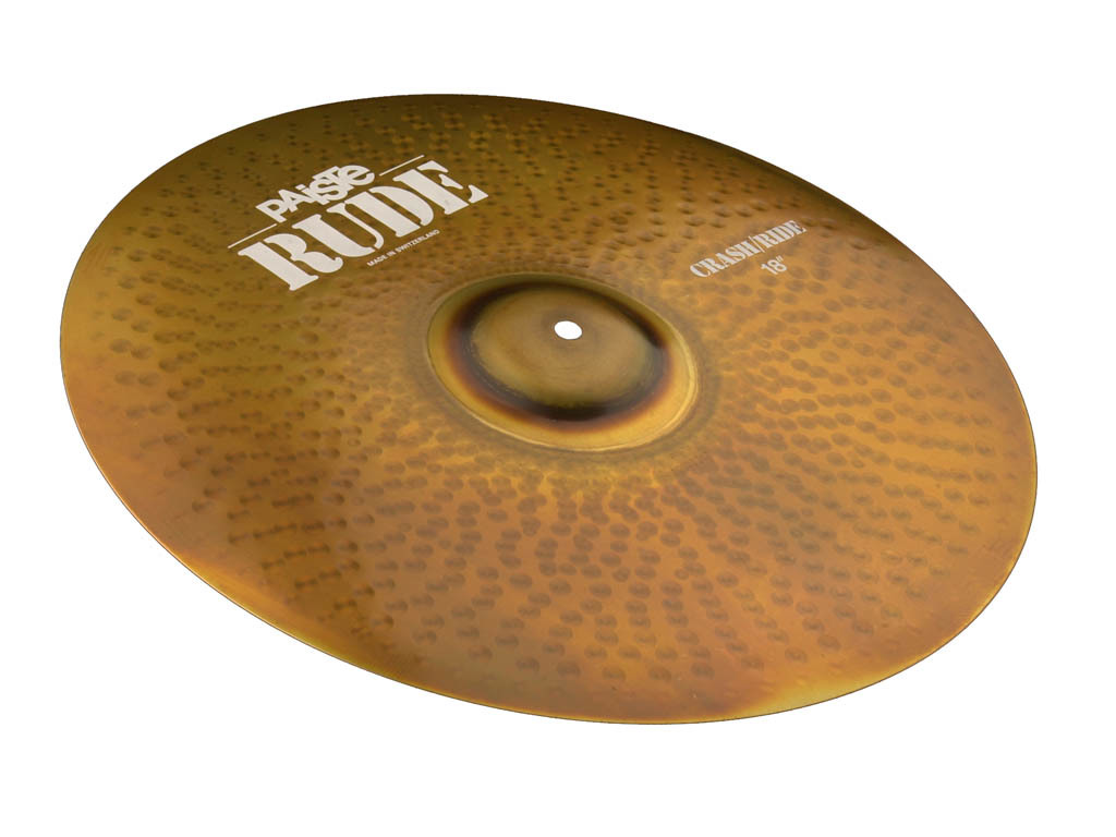 Crash Cymbal Paiste CY0001128516, RUDE Serie, Crash/Ride, 16""