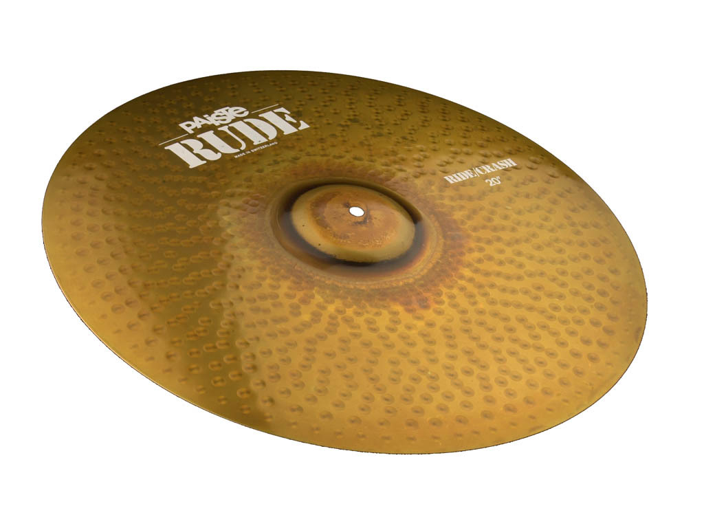 Ride Cymbal Paiste CY0001128520, RUDE Serie, Ride/Crash, 20""