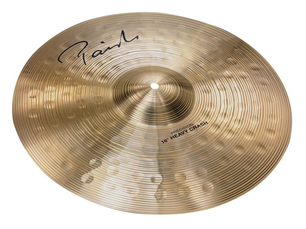 Crash Cymbal Paiste CY0004102818, Signature Precision Serie, Heavy, 18""