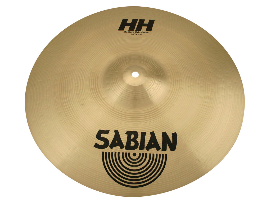 Crash Cymbal Sabian 21807, AA Serie, Medium Thin, 18""
