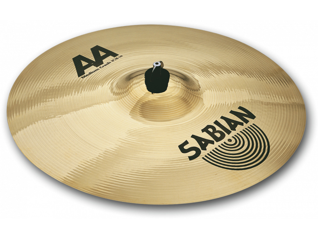 Crash Cymbal Sabian 21908, AA Serie, Medium, 19""