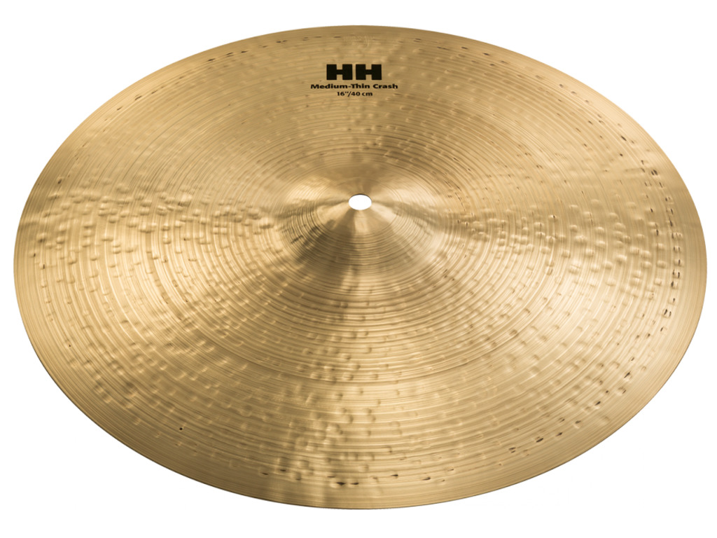 Crash Cymbal Sabian 11607, HH Serie, Medium-Thin, 16""