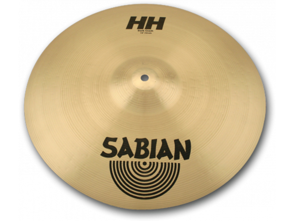 Crash Cymbal Sabian 11868, HH Serie, Dark, 18""