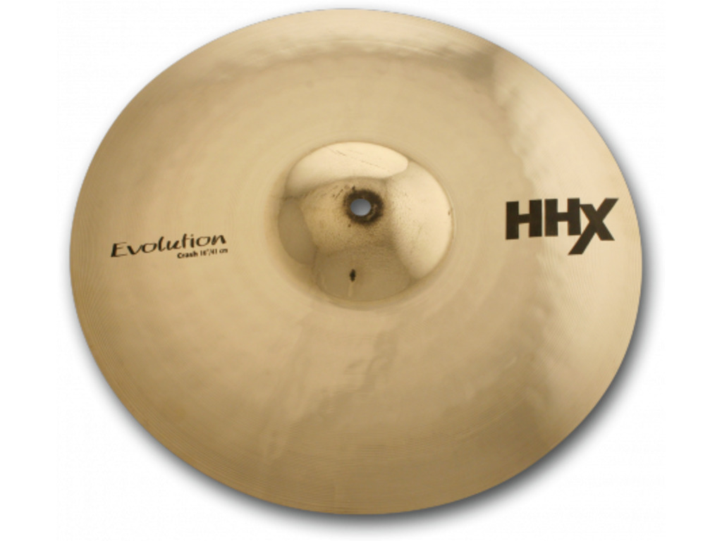 Crash Cymbal Sabian 11606XEB, HHX Serie, Evolution, 16""